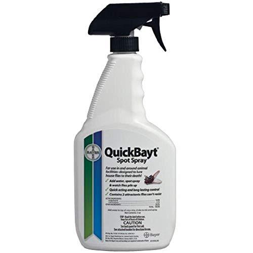 Bayer Animal 724089479235 Spray Fly 3Oz Conc/24Oz Bot