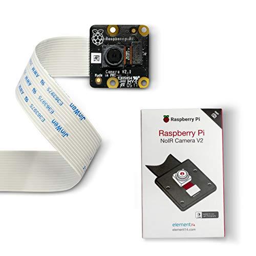 LABISTS Cámara Negra Oficial para Raspberry Pi 8MP, Raspberry Cámara V2 Compatible con Raspberry Pi 4, Pi 3 B + / B, Pi 2B, Pi Zero y Jetson Nano