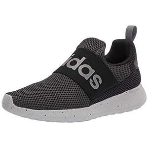 adidas Lite Racer Adapt 4.0 Running Shoes, Grey/Grey/Black, 5 US Unisex Big Kid