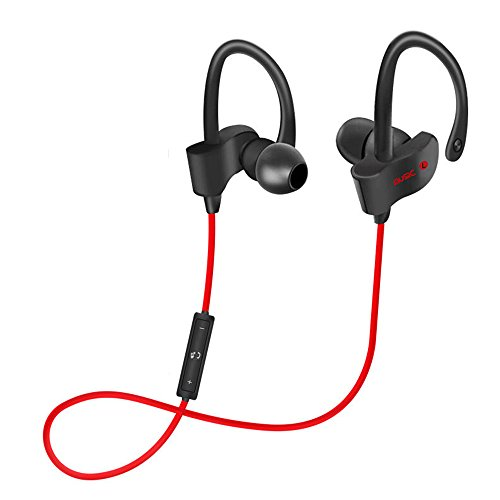 Auricolari Wireless Bluetooth 4.1,Rosso