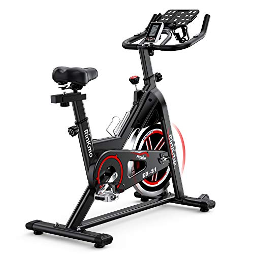 Rinkmo Spin Bike, Indoor Cycling Stationary Bike With Tablet Holder, Exercise Bike With 36Lbs...