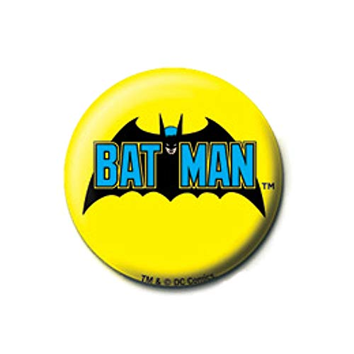 Pritties Accessories Echte DC Comics Batman Retro Logo Taste Abzeichen Stift