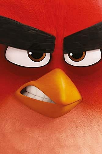 Jigsaw Puzzles 1000 Angry Birds - Movie Poster/Print (Teaser Style - Red)