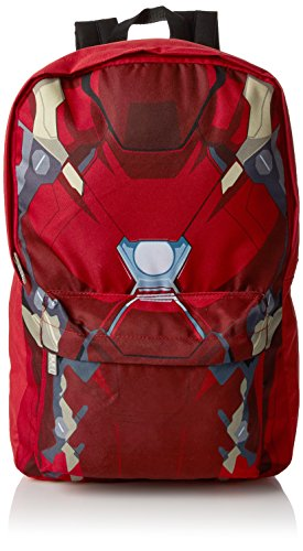 Marvel Iron Man Torso Backpack Sac à dos loisir 42 Centimeters Rouge (Red)