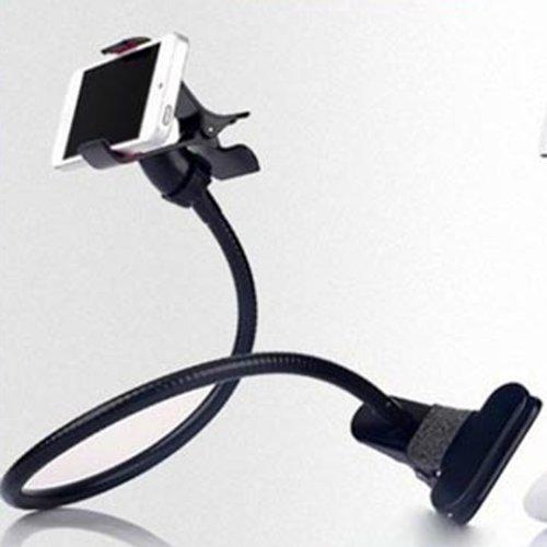 System-S Universal Halter Flexibler Tisch & Bett Schwanenhals Haltearm Halterung für Smartphone Handy
