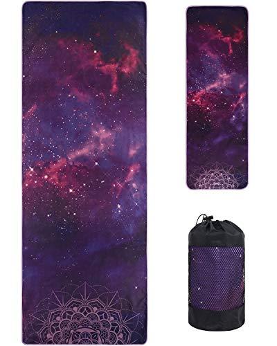 VIVOTE Microfibre Yoga Towels Set, Yoga Mat Towel 183 X 66 CM, Hand Towel...