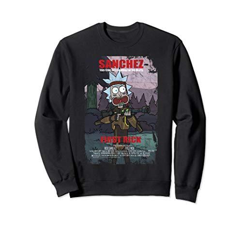 Adult Swim Rick & Morty First Rick Poster Sweatshirt
