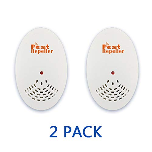 ZXHQ Pest Repeller Control, Pest Repeller Mause, Effektive BekäMpfung Von Fliegenden Insekten, Um MüCkenstiche Zu Vermeiden, 2 Pack