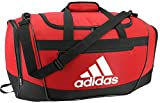 adidas Unisex Defender III Small Duffel Bag, Team Power Red, Small