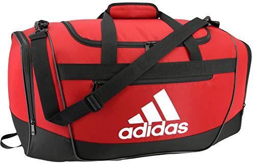 adidas Unisex Defender III Small Duffel Bag, Team Power Red, Small