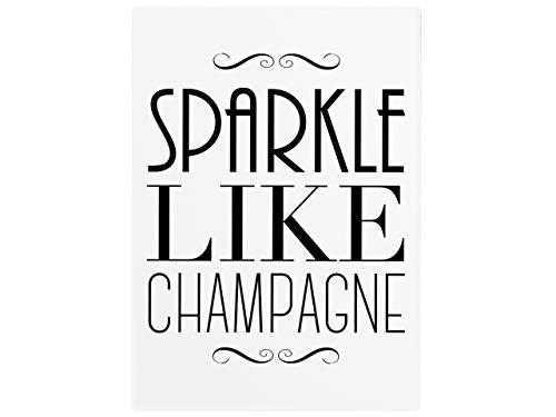 Interluxe wandbord houten bord Sparkle Like Champagne champagne vriendin vrouw vrouw