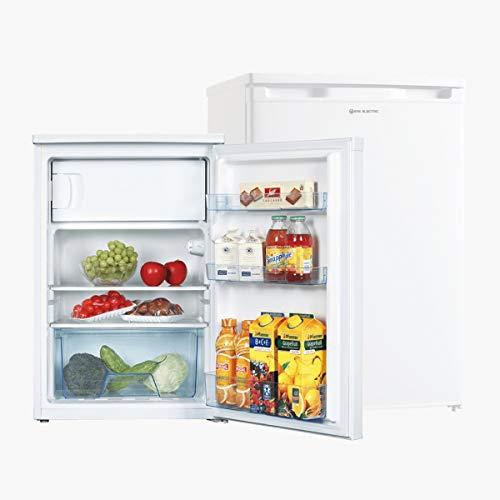 EAS ELECTRIC SMART TECHNOLOGY | EMR851 | Frigorífico bajo encimera | Color Blanco | 85x56 cm A++ | Control mecánico | Cajón verdulero | Refrigerador 97 litros | Bajo consumo 136 kWh/año