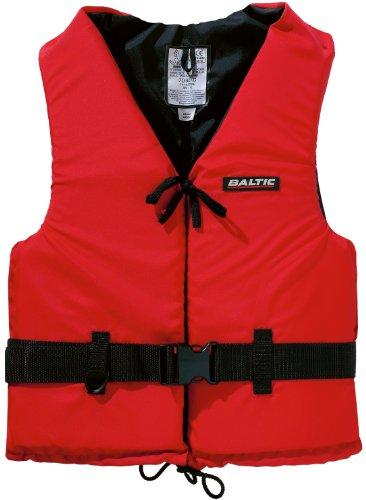 Baltic Schwimmweste Aqua, 50N, über 90kg, Rot