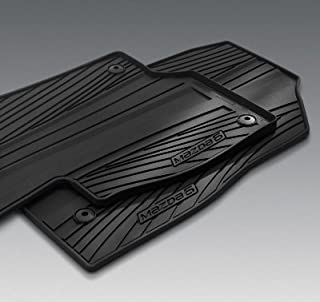 Black Kagu Rubber 3D MAXpider L1MZ04001509 Complete Set Custom Fit All-Weather Floor Mat for Select Mazda6 Models