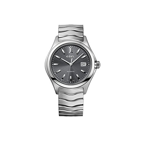 Ebel Herren Analog Automatik Uhr mit Edelstahl Armband 1216266