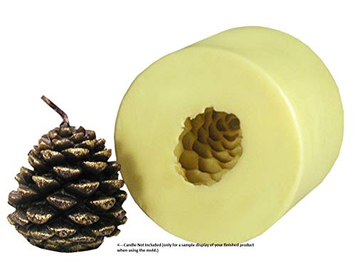 Mann Lake 'Small Pine Cone' Candle Mold