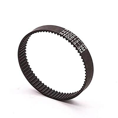 Gfpql WYanHua-Timing Belt Closed Loop Rubber Drive Belts, Perimeter 222-531mm, HTD-3M Timing Belt, Width 15mm, Quality replacement parts (Length : Length 222mm, Width : Width 15mm)