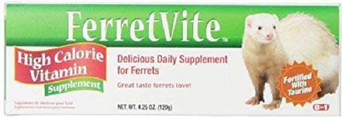 eCOTRITION Ferretvite Daily Vitamin for Small Animal - 4.25 oz. (Paste) (Set of 5)