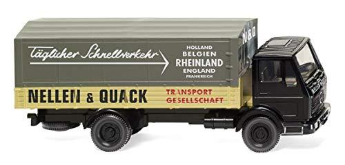 Wiking 043702 Pritschen-LKW (MB NG) Nellen & QuackKein Spielzeug!! Miniaturmodell/Sammlerartikel !!