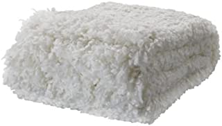 Ikea Throw, white 51x67