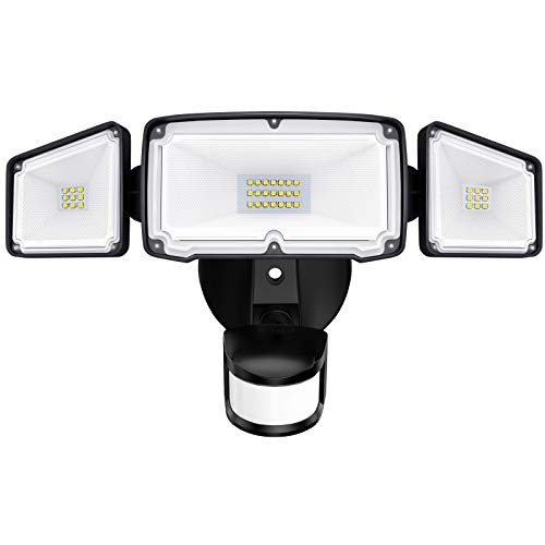 Amico 3 Head LED Security Lights $21.44+Free Shipping