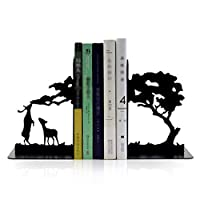 ブックエンド ブックエンド、ブックエンド、棚のためのブックエンド、ブックエンド棚のため、ブックエンド、重い本のためのブックエンド、メタルブックエンド1ペア 本立て (Color : B, サイズ : 1 pair)