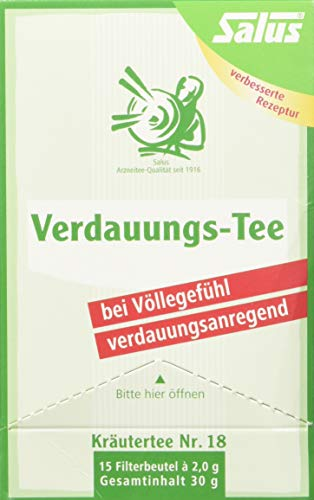 VERDAUUNGS-TEE Kräutertee Nr.18 Salus Filterbeutel 15 St Filterbeutel