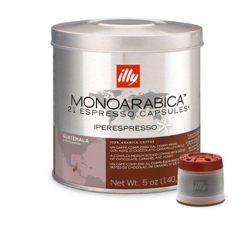 Illy iperEspresso MonoArabica Guatemala -: 4 Medium, Coffee, 21-Count Kapseln
