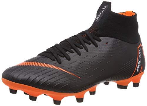 Nike Mercurial Superfly AG-PRO, Scarpe da Calcio Uomo, Nero (Schwarz Schwarz), 42 EU