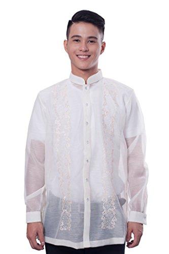 BW Filipino Jusilyn Full-Open Barong Tagalog 001