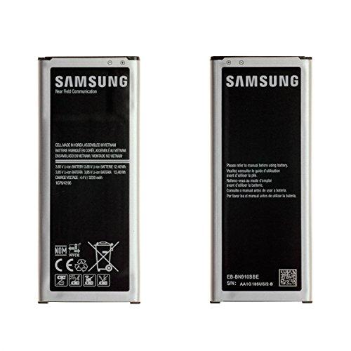 Batería de reemplazo Original de Samsung EB-BN910BBE Compatible con Samsung Galaxy Note 4 (N910F / N910T / N910C) Embalaje a Granel sin Estuche
