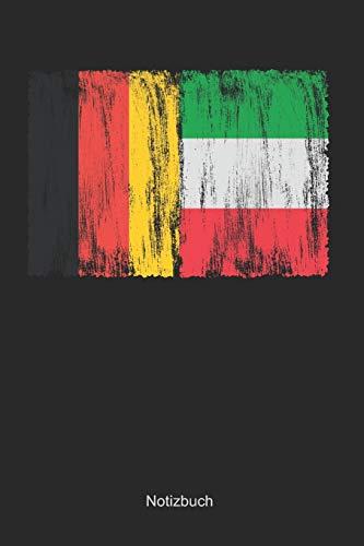 Deutschland und Italien: Punktraster Notizbuch / Tagebuch   15,24 x 22,86 cm (ca. DIN A5)   120 Seiten