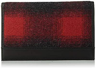 Pendleton Men's Secretary Bi-Fold Wallet, buffalo check ombre, One Size