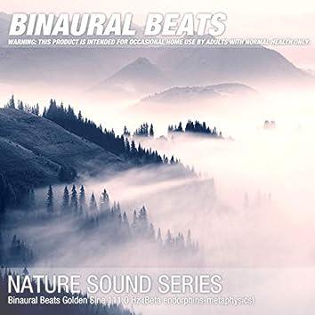 Binaural Beats Golden Sine 111.0 Hz (Beta endorphins-metaphysics)