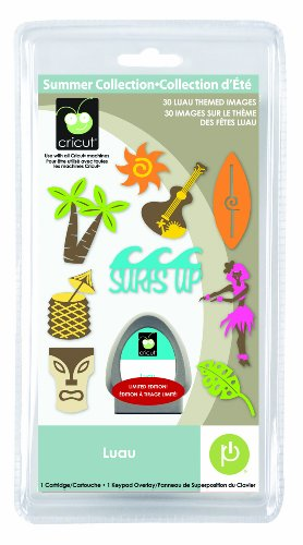 Cricut Luau Seasonal Cartridge