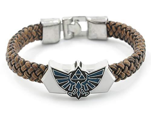 CoolChange Zelda geflochtenes Armband mit Hyrule Wappen