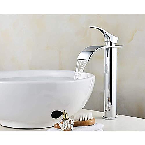 LIANGANAN Cuenca del Grifo de Plata Moderna baño Grifo del Fregadero del Grifo de Agua de una manija un Grifo grifos de baño grifos de baño