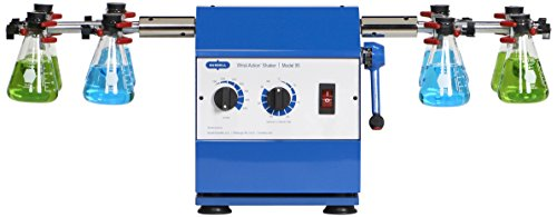 Burrell Scientific 075-795-08-19 Wrist Action Shaker, Model 95-BB, Variable Speed, Blue/White