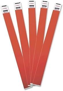 سوار أدفانتوس لإدارة الزحام تيفيك للأساور ، مرقمة بشكل متسلسل Pack of 100