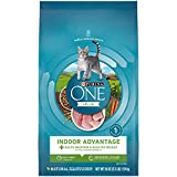 Purina ONE Hairball, Weight Control, Indoor, Natural Dry Cat Food, Indoor Advantage - 3.5 lb. Bag