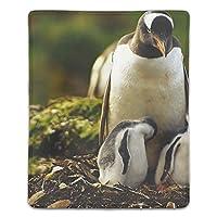ペンギンマウスパッド ゲーミング マウスパッド キーボードパッド パソコンデスクパッド 防水 18*22cm