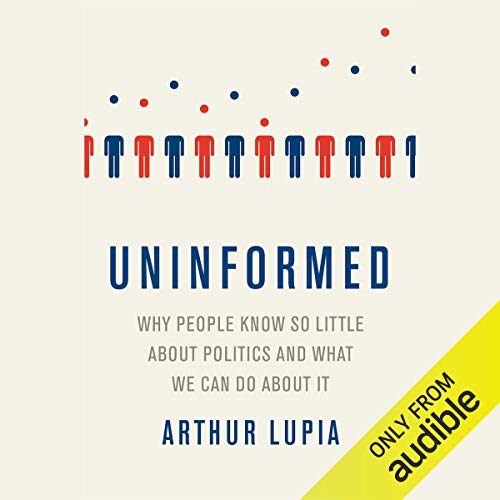 Uninformed audiobook cover art