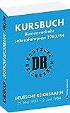 Kursbuch der Deutschen Reichsbahn 1983/1984: Jahresfahrplan, gültig vom 29. Mai 1983 bis 2. Juni 1984