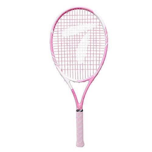 Raquetas Tenis Rosa Tenis Deportivos Al Aire Libre Bienes Deportivos Principiantes Tenis para Mujer Alta Resiliencia (Color : Pink, Size : 68.5cm)