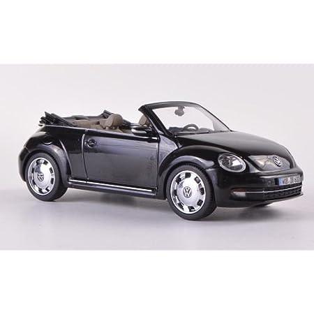 1:36 Beetle 2012 Metall Die Cast Modellauto Auto Spielzeug Kind Sammlung Schwarz