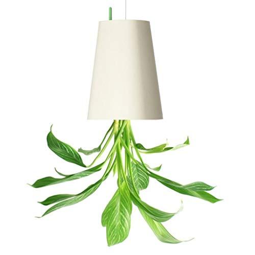POAO, hängender Blumentopf, kopfüber (Large, Weiß)