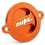 Tapa de la Cubierta del Filtro de Aceite del Motor para K-T-M Duke 125/200/390...