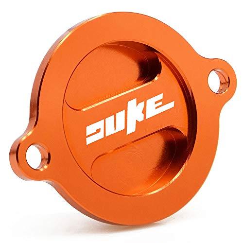 CNC Aluminium Motor Ölfilter Abdeckkappe für K-T-M Duke 125/200/390 2011-2015 DUKE690/R 2008-2020 DUKE790 2018-2020 Duke 890R 2020