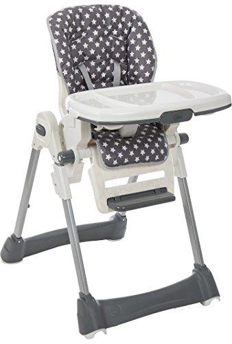 Fillikid Chaise haute Aron de bébé Gris