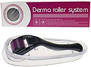 QOAL Derma Roller 0.5 Mm with 540 Titanium Needles, Anti Aging Scar Removal Treatments Facial Kit